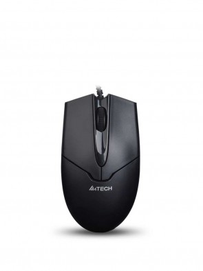 A4 Tech N-301 Wired V-Track Mouse USB Black