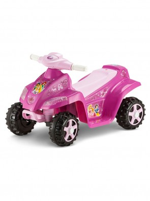 Kid Trax Disney Princess 6V Toddler Quad Ride On, Pink