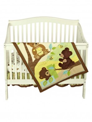 New Born Baby Bed Set Pack of 3 Pcs 0016