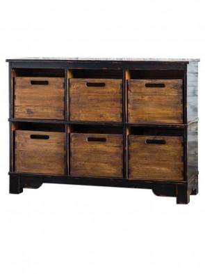 Regal Wooden Cupboard 0016