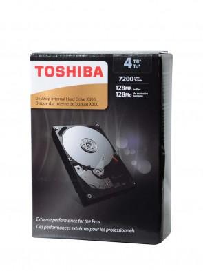 Toshiba 4TB (3.5 Desktop)