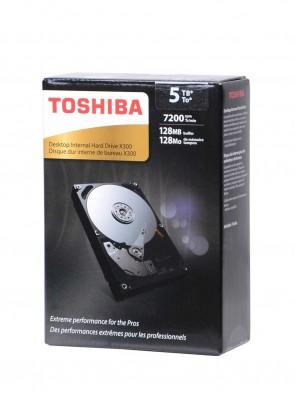 Toshiba 5TB (3.5 Desktop)