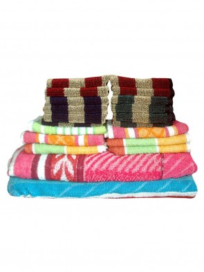 HOME 550 GSM ULTRASOFT ZERO TWIST HAND TOWEL- SET OF 2 pcs 0019