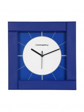 Square Plastic Analogue Clock 0018
