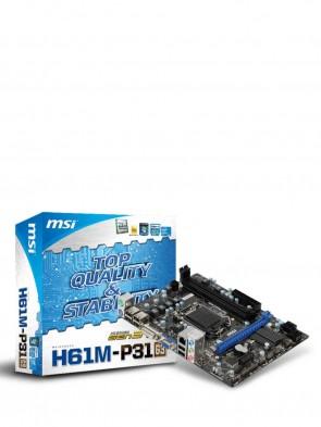 MSI H61M-P31 (G3) MOTHERBOARD