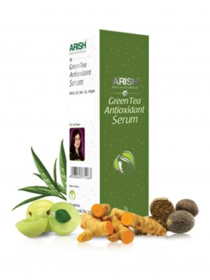 Arish Face Green Tea Antioxident Serum 35 ml