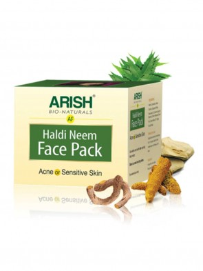 Arish Face Haldi Neem Pack 50 ml