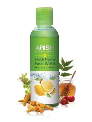 Arish Haldi Neem Face Wash (Normal Skin) 100 ml