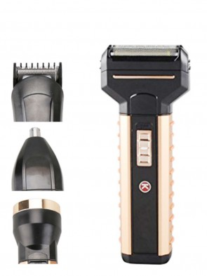 Kemei KM-T3  4in1 Grooming Kit with Torch