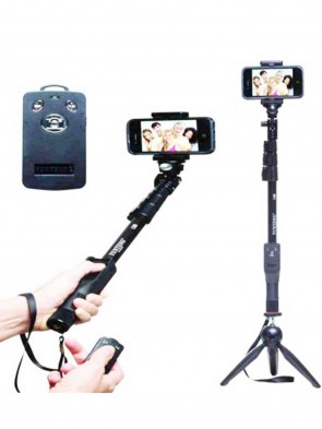 HIGH QUALITY BLUETOOTH SELFIE STICK WITH TRIPOD (0017)