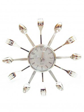 Spoon System Decoration Wall clock 0019