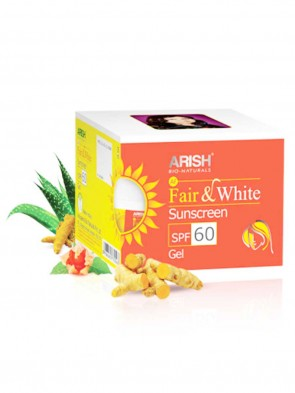 Arish Face Fair and White Suncreen SPF 60 Gel 35 ml
