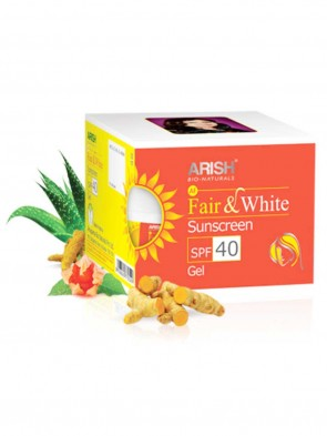 Arish Face  Fair and White Suncreen SPF 40 Gel 35 ml