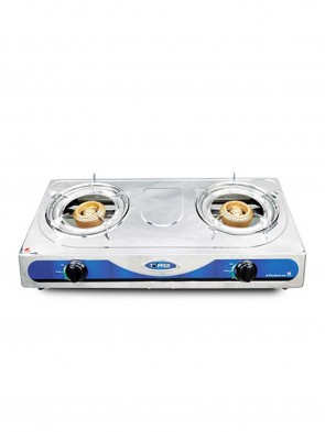 Topper Double NG A-203 SS Auto Gas Stove 805068