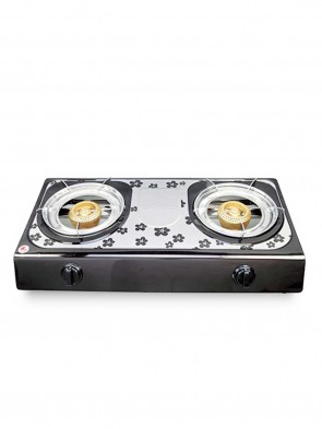 Topper Double NG A-204 SS Auto Gas Stove  805074