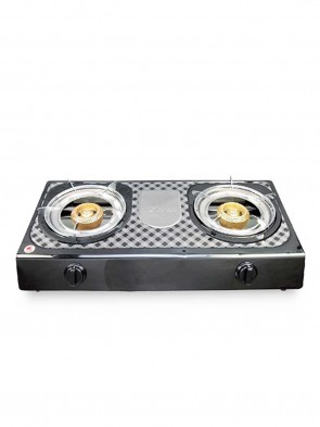 Topper NG A-205 Double SS Auto Gas Stove 805076