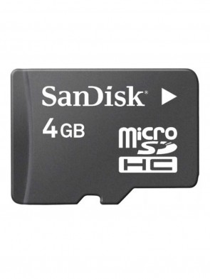 Sandisk 4GB Micro SD Class-10 Memory Card