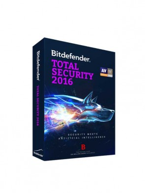 BITDEFENDER TOTAL SECURITY 3 USER 2016