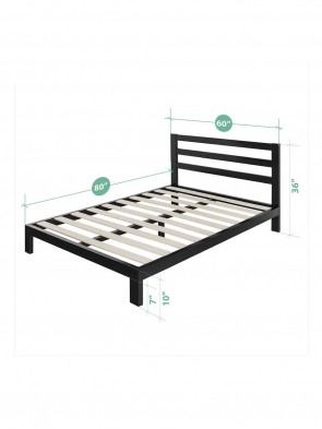 Wooden Bed 0010