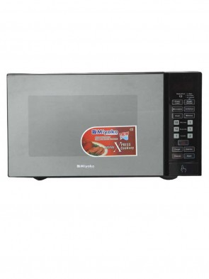 Miyako MD 25 H3 Microwave Oven - Black and Silver
