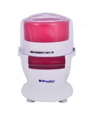 Miyako MC 660 Chopper Blender 1.2L - White and Red