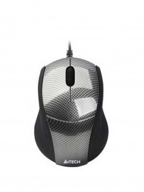 A4 Tech N-100 Carbon Shape Laptop Mouse