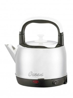 Ocean OEKRA0541 Electric Kettle S/S 4.1L - Silver and Black