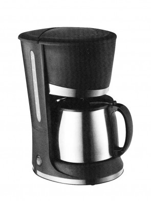 Ocean OCM6639SS Coffee Maker S/S 1.2L - Black and Silver