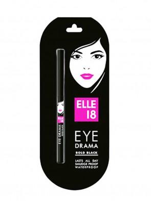 Elle 18 Eye Darama Bold Black Kajal 0813