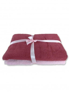 HOME 550 GSM ULTRASOFT ZERO TWIST HAND TOWEL- SET OF 2 pcs 0017