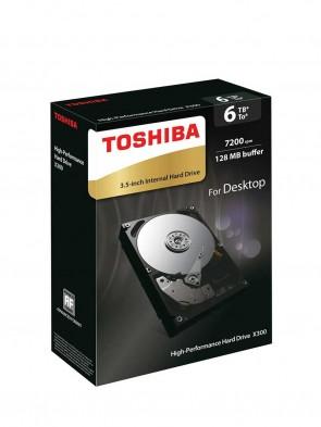 Toshiba 6TB (3.5 Desktop)
