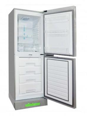 Minister 252 Ltr Refrigerator M-252 BLUE,RED LILY V