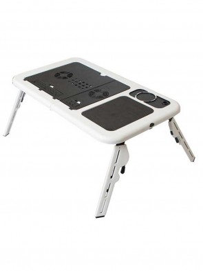 HIGH QUALITY FOLDABLE LAPTOP TABLE WITH 2 USB COOLING FANS