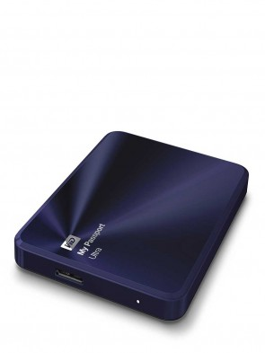 Western Digital 1TB My Passport Ultra Metal Blue