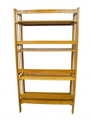 Wooden Book Shelf 0011