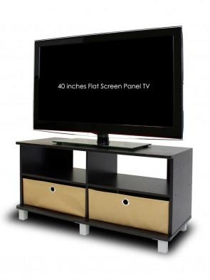 Wooden tv TROLLY 0018