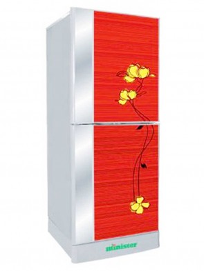 Minister 255 Ltr Refrigerator M-255 BLACK,RED DD