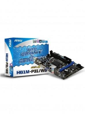MSI H61M-P31W8 Motherboard