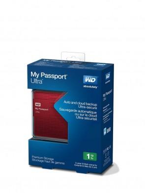 Western Digital 1TB USB 3.0 My Passport Ultra WDBZFP0010BRD