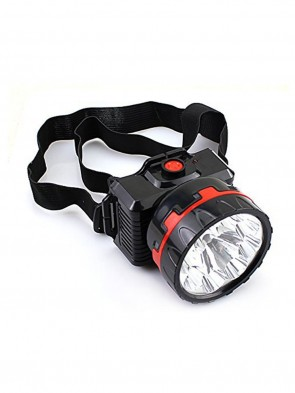 Bright 5 W LED Rechargeable Head Lamp For Home And Outdoor Lighting - 2 Mode Bright and Low