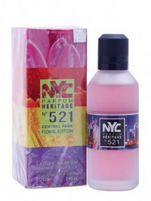 NYC Parfum Heritage Nº 521 - Central Park Floral Edition 100 ML