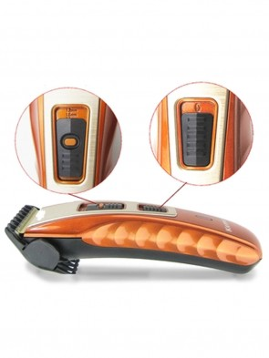 KEMEI KM-519A CLIPPER & TRIMMER - ORANGE