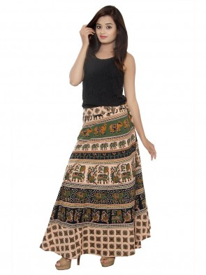 Cotton Long  Skirt 0010