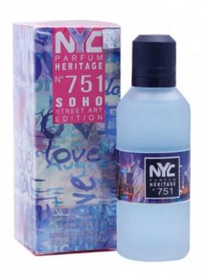 NYC Parfum Heritage Nº 751 - Soho Street Art Edition 100 ML
