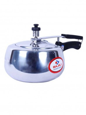 Bajaj Pressure Cooker Handi 3L - Silver 0011