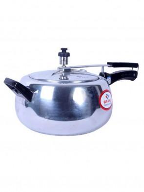 Bajaj Pressure Cooker Handi 4L - Silver 0013