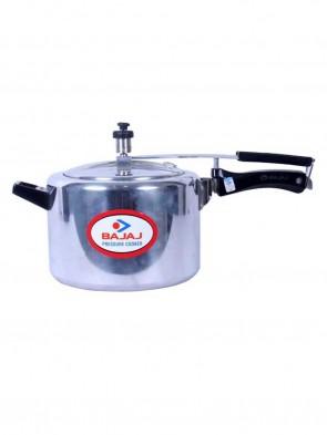 Bajaj Pressure Cooker 4L - Silver 0012