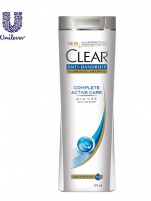 Clear Complete Active Care Shampoo 375 ml (CLE002)