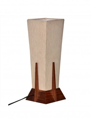 Decorative Table Lamp In Wood - Gift item 0010