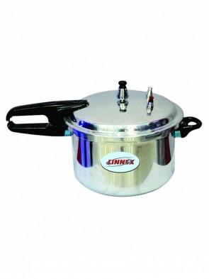 Linnex Gas Stove Pressure Cooker 4.5L - Silver 0012